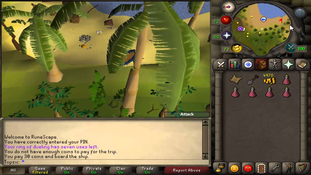 osrs in a village made of bamboo youtube