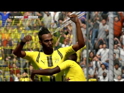 FIFA 17   Borussia Dortmund vs Bayer Leverkusen - Full Gameplay (PS4/Xbox One)