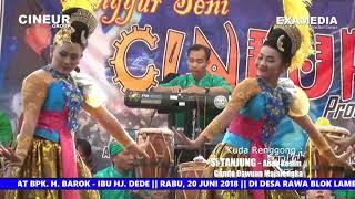 Jaipong Dangdut II RAMPAK KENDANG WANOJA II Wina, Fitri & Ika Erika @CINEUR GROUP II  Rawa Cingambul
