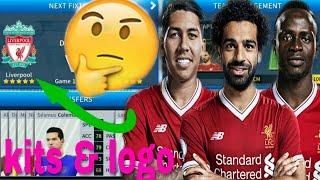 How To Create Liverpool FC Team 2019 Kits & Logo | Dream League Soccer 2019