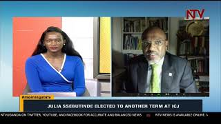 Julia Ssebutinde elected to another term at ICJ | MORNING AT NTV