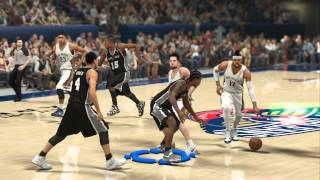 NBA 2K14 PS4 KILLER CROSSOVER DRIBBLING TUTORIAL HOW TO DRIVE TO THE BASKET