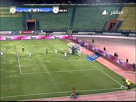 Zamalek vs Africa Sports - 2012 CAF Champions League