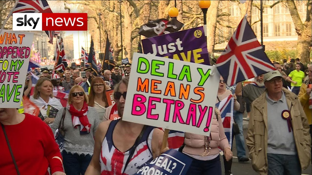 Brexit March: Thousands make their voices heard