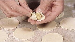 Тесто для вареников на воде без яиц