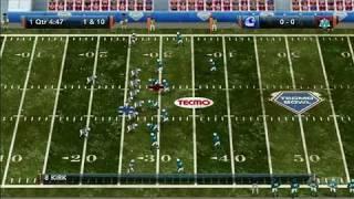 Tecmo Bowl Throwback Xbox Live Gameplay - Editing Teams