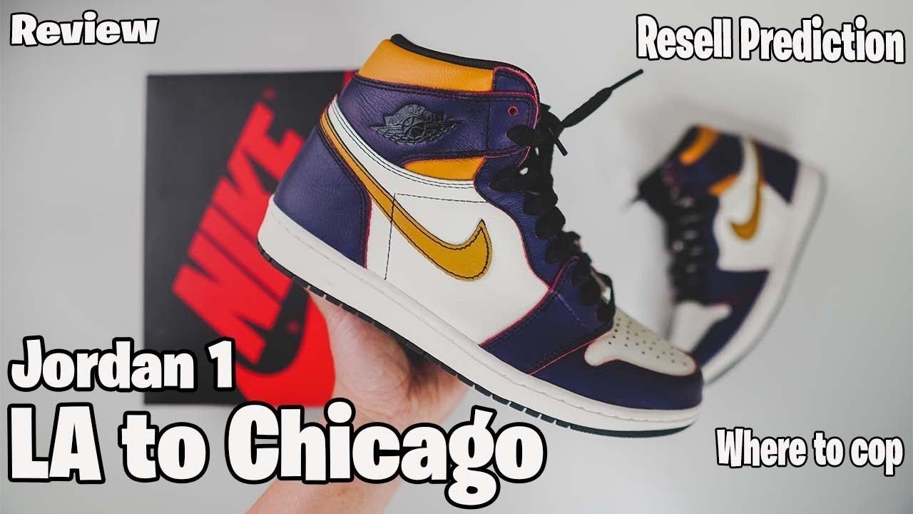 "grossiste 7eca7 f4f84 NIKE SB Air Jordan 1 Review ""LA to Chicago"""