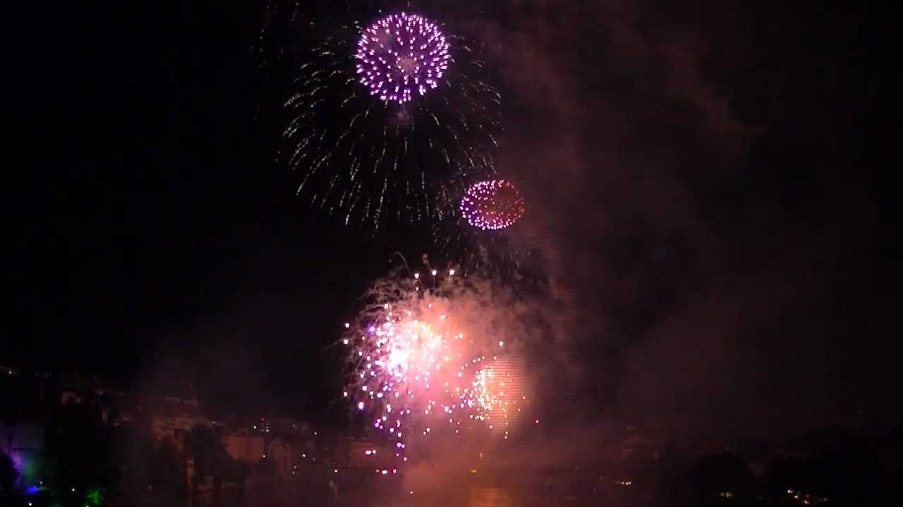 1 August Feuerwerk Basel 2011 Youtube