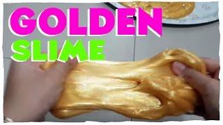 Golden Slime By Naya Slime