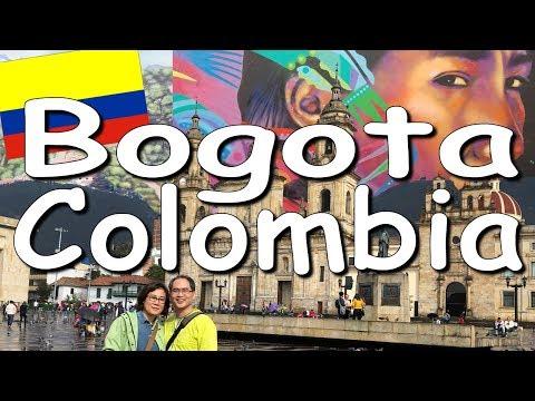 Ep 1/10 Colombia Trip Vlog 2018 | Bogota