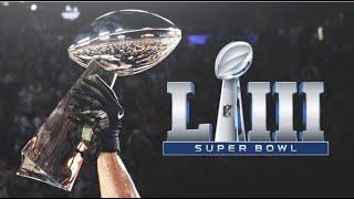 New England Patriots - Super Bowl LIII Champions