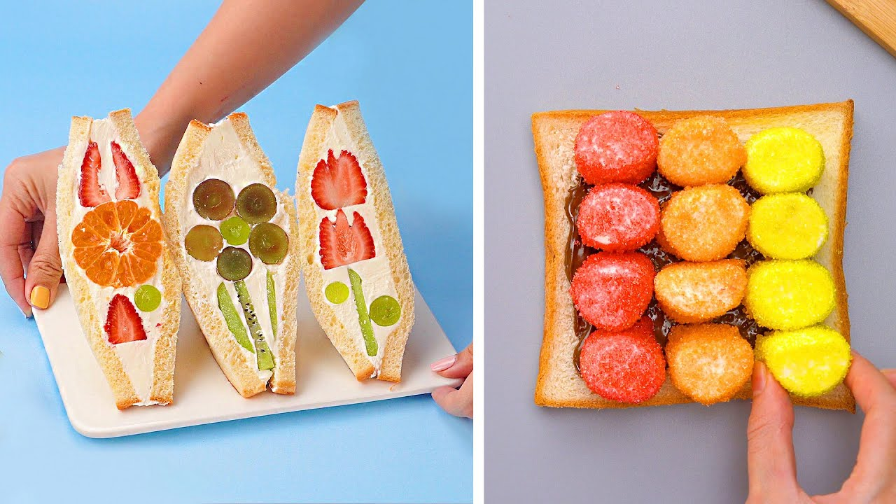 Quick And Easy Sandwich Decorating Recipes May You Not Know | Awesome Homemade Cake Tutorials