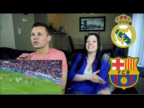 El Clasico - Highlights Real Madrid vs Barcelona REACTION!!!