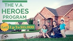 Get Up To $15,000 with Veteran Heroes Home Loan!