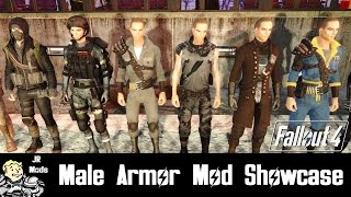 Fallout 4 Mod Showcase Male Armor Mods