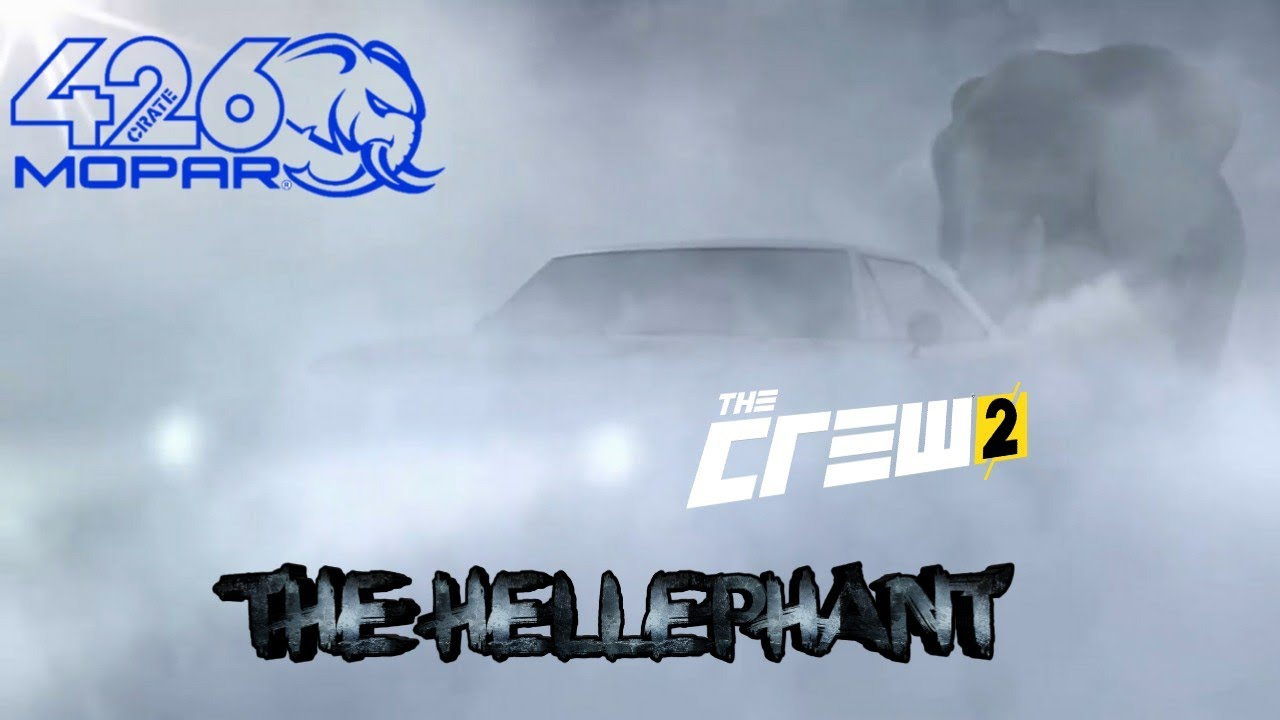 The Dodge Charger Hellephant Dodge Hellephant Remake The Crew 2