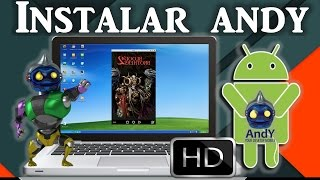 Video Descargar e Instalar Andy  Emulador de Android para Windows download MP3, 3GP, MP4, WEBM, AVI, FLV Juli 2018