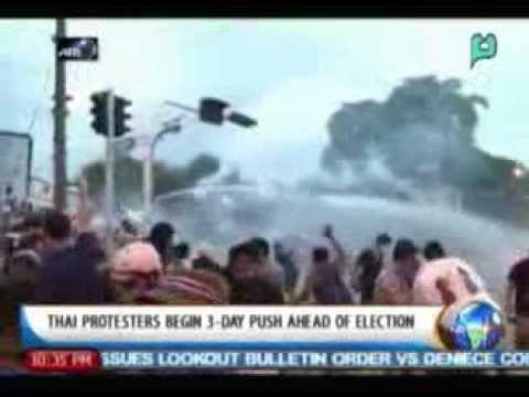 One Global Village: Thai protesters begin 3-day push ahead of election || Jan. 30, '14
