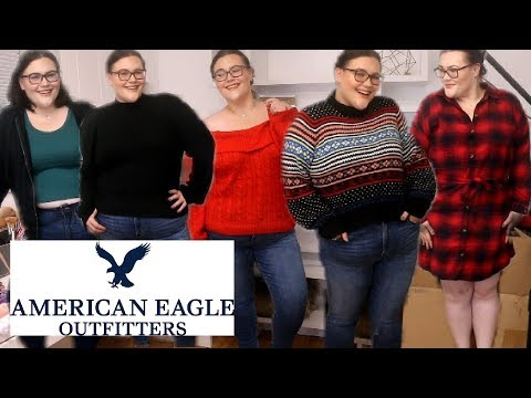 AMERICAN EAGLE PLUS SIZE TRY ON HAUL!
