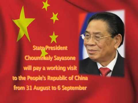 Lao NEWs on LNTV: State President Choummaly Sayasone will pay a working visit to China.31/8/2015