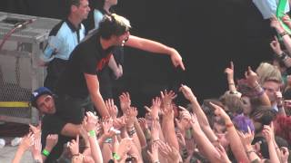 All Time Low- Dear Maria- Emirates Stadium- London- 6/1/13