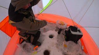 С глубины перешли на меляк и тут началось Зимняя рыбалка 2020