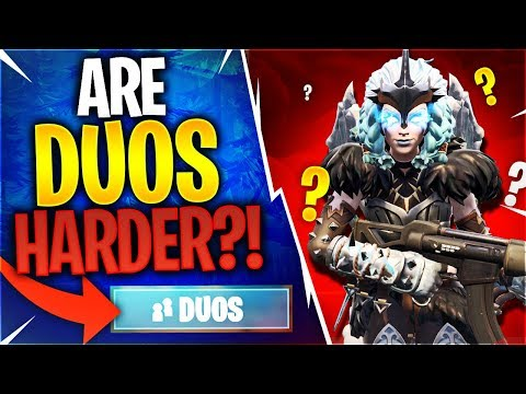 ARE DUOS HARDER?! Feat. Timthetatman (Fortnite Battle Royale)