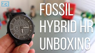 Fossil Hybrid HR Unboxing and Setup