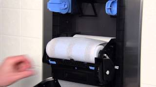 SofPull® Recessed Mechanical Dispenser -- Stub Roll Towel Transfer Thumbnail