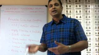 Advantages of Pvt. Ltd. Company in India(Pvt Ltd. Company is considered to be one of the best choice for starting a business in India. In this episode of eLagaan Whiteboard Friday, the eLagaan ..., 2012-12-07T04:51:11.000Z)