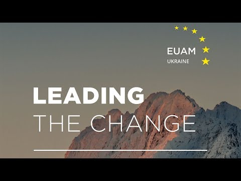 24 staff from Ukraine's Civilian Security Sector complete EUAM 'Leading the Change' programme