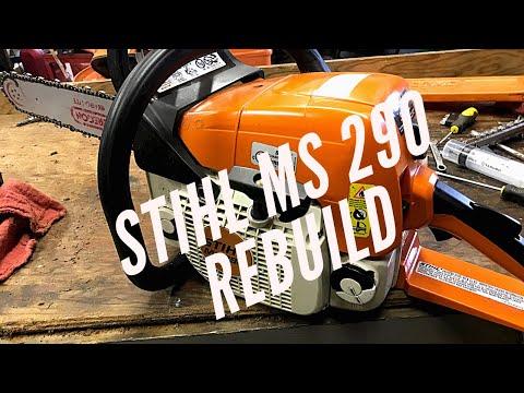 Stihl MS 290 Top End Rebuild