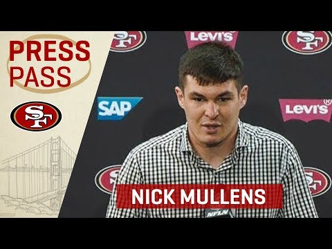 Nick Mullens 'I Hope Fans Are As Happy As We Are' About Win Vs. Seahawks | San Francisco 49ers