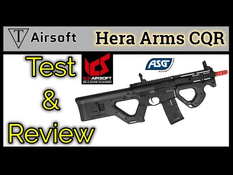 ASG Hera Arms CQR by ICS Test and Review!