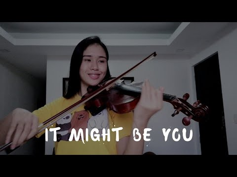 It Might Be You Violin Cover by Justerini