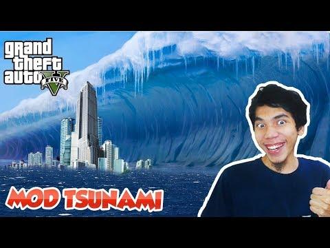 STRESMEN NYOBAIN TSUNAMI DI LOS SANTOS!! GTA 5