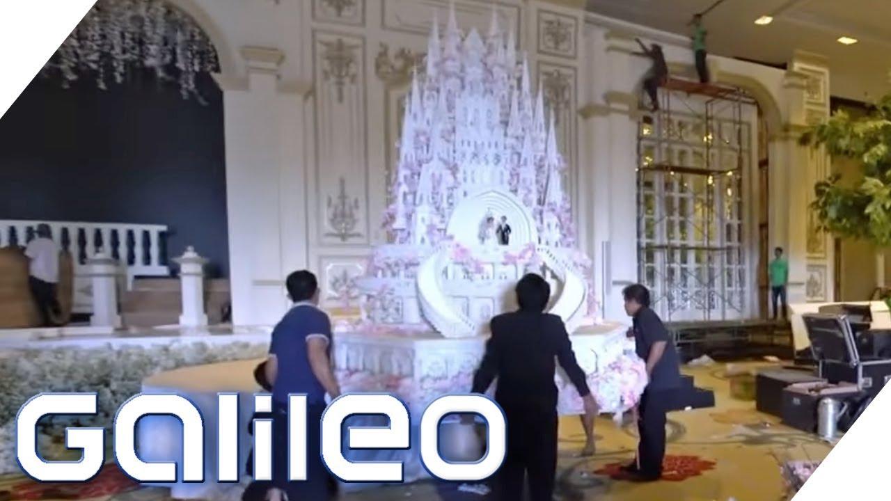 Indonesien: Die größten Hochzeitstorten der Welt | Galileo