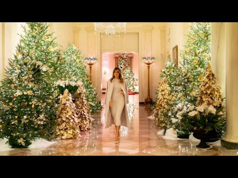 Mick Lee - Sneak Peek of White House Christmas Decorations