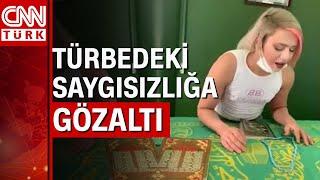 Türbede video çeken TikTokçu dini değerleri aşağılamaktan gözaltında