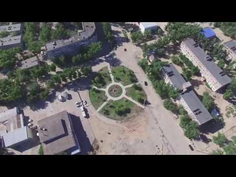 г. Нариманов Preview ролик. Квадрокоптер DJI Phantom 3 Professional.