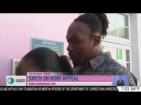 ATTORNEY FRED SMITH ON RONY APPEAL