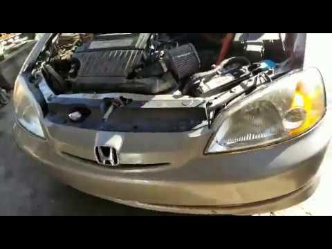 2003 Honda Civic 1 3l Hybrid Cvt Problema De Transmisión