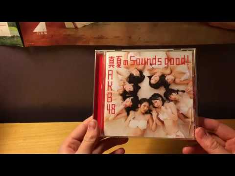 AKB48 Manatsu no Sounds good! (真夏のSounds good!) Theater Version Unboxing