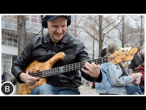 Download Youtube: WOJTEK PILICHOWSKI - INSANE SLAP BASS SOLO | BassTheWorld.com