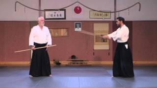 Jo contre bokken ● Kobayashi Ryu Aikido