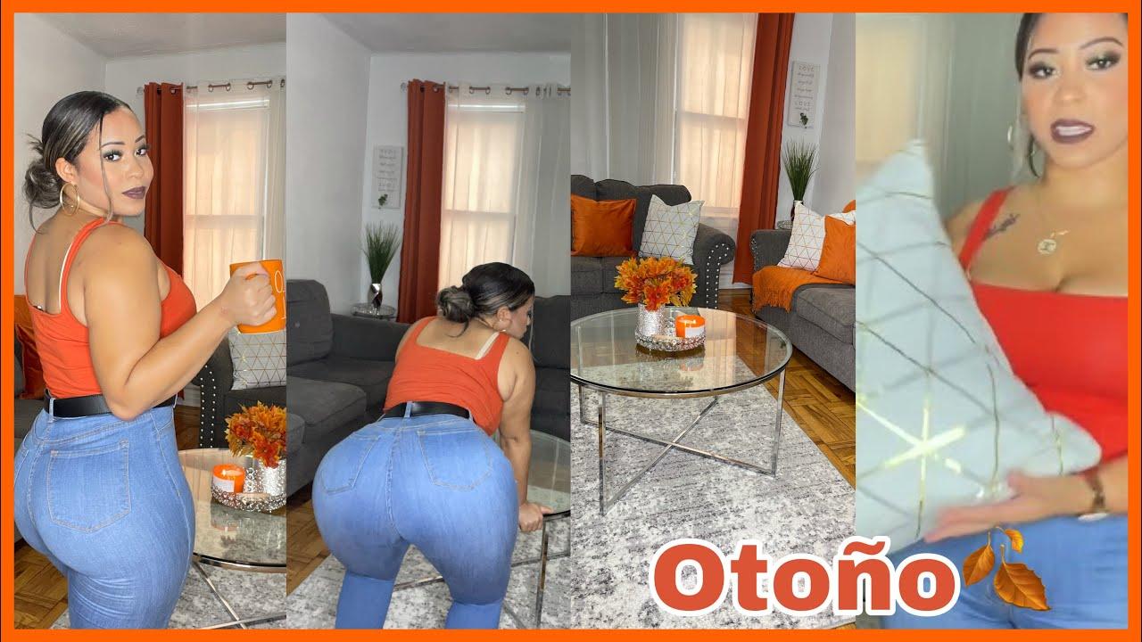 DECORANDO MI SALA JEAN APRETADO En Otoño! | Living Room Fall Decor 2021 🍂