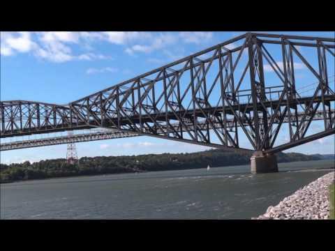 Ponts Quebec & Pierre Laporte bridges