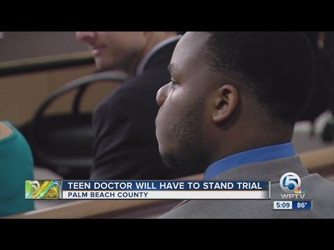 West Palm Beach teen 'doctor' has new attorney; Trial date set for Sept. 6, 2016