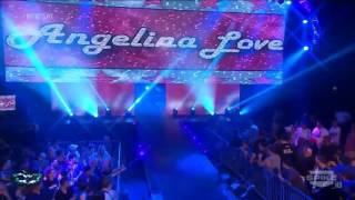 Angelina Love Ring Entrance 3-28-14