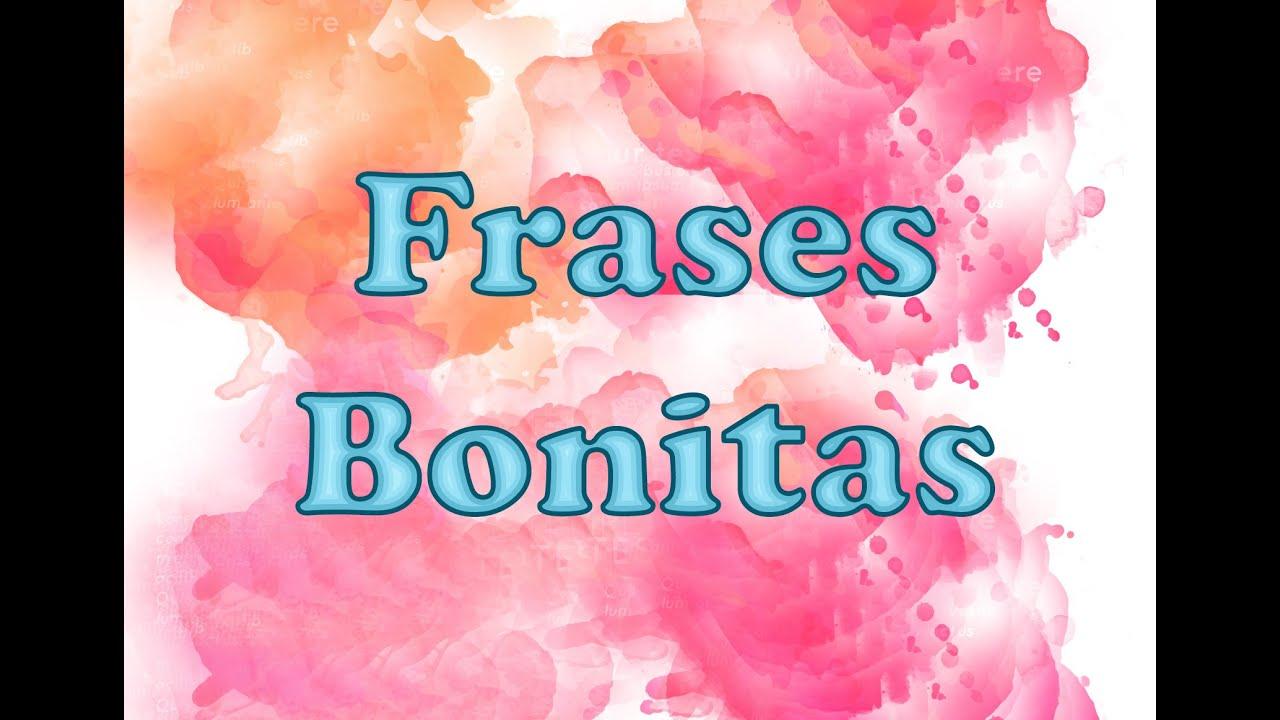 Frases Da Vida: Frases Bonitas - YouTube